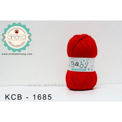 Benang Rajut King Cole - Baby Big Value DK #1685 (Red)