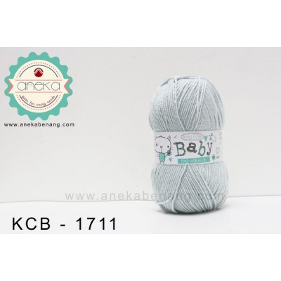 Benang Rajut King Cole - Baby Big Value DK #1711 (Silver)