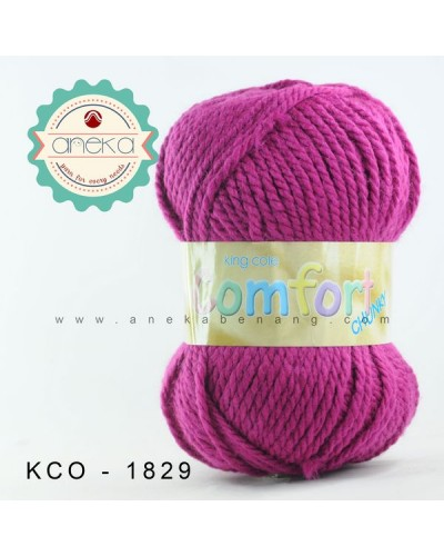 King Cole - Comfort Chunky #1829 (Cerise)