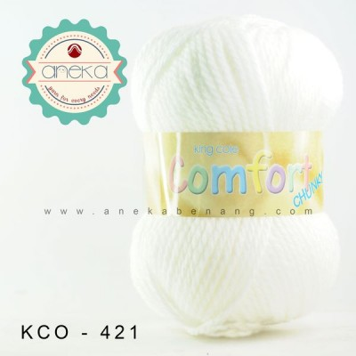 King Cole - Comfort Chunky #421 (White)