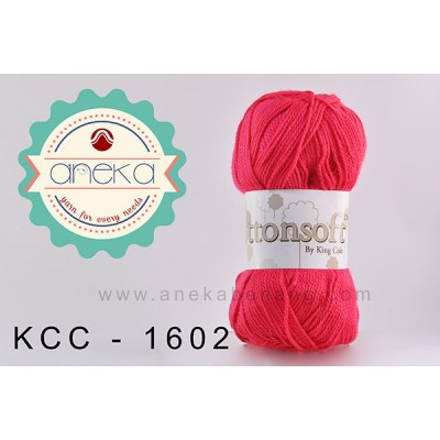 King Cole - Cottonsoft DK #1602 (Hibiscus)