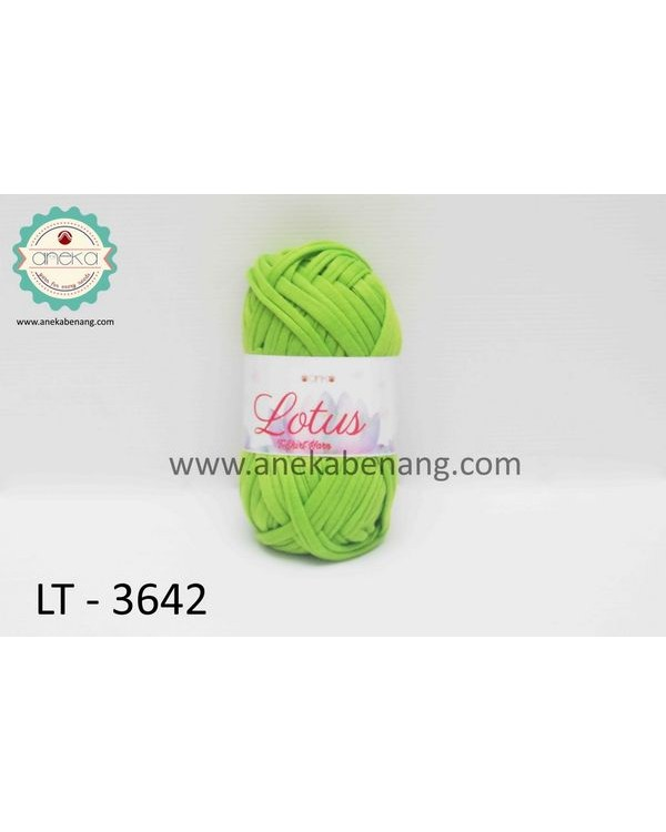 Benang Rajut Kaos Lotus / T-Shirt Yarn - 3642 (Hijau Lemon)