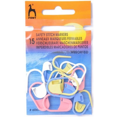 Pony Safety Stich Markers - Assorted