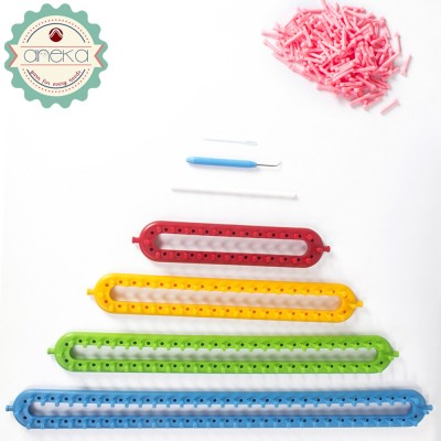 Alat Rajut Loom Pony Straight Knitting Loom
