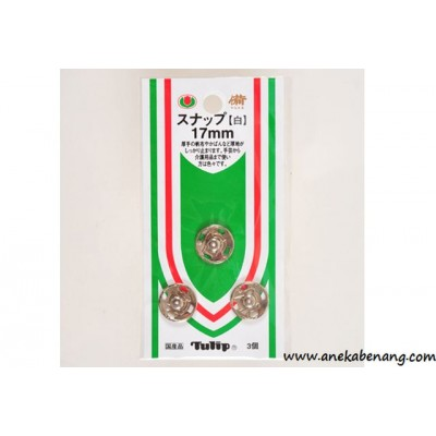 Tulip - Snap 17mm (White)