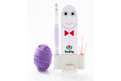 Hakpen (Alat / Jarum Rajut) Tulip - Etimo Kids Grand-chan Set 12.0mm (Purple)