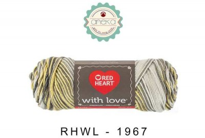 Red Heart With Love #1957 (Lemon Drop)